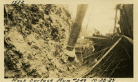 Lower Baker River dam construction 1925-10-28 Rock Surface #249