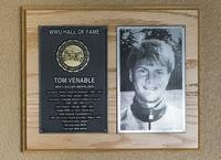 Hall of Fame Plaque: Tom Venable, Men's Soccer (Midfielder), Class of 2004