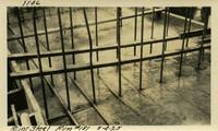 Lower Baker River dam construction 1925-08-04 Reinf Steel Run #181