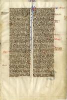 French Bible 13th Century [item 3096]