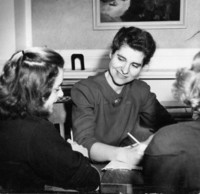 1947 Jean (Wagner) Shephard With Students