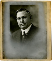 Studio portrait of P.J. Murphy