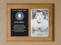Hall of Fame Plaque: Dave Emery, Men's Swimming (100M Butterfly), Class of 1980