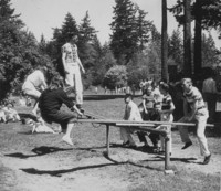 1947 Campus Day: Teeter-Totter