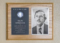 Hall of Fame Plaque: Ralph Vernacchia, Coach, Class of 1988