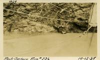Lower Baker River dam construction 1925-10-12 Rock Surface Run #236