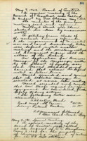 AS Board Minutes - 1923 May