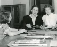 1948 Elizabeth Gregory With Students