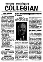 Western Washington Collegian - 1961 August 4