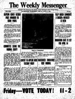 Weekly Messenger - 1923 April 6