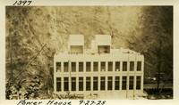 Lower Baker River dam construction 1925-09-27 Power House