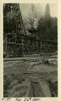 Lower Baker River dam construction 1924-11-26 Railroad trestle