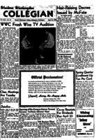 Western Washington Collegian - 1954 April 16