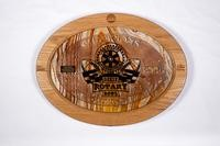 Football Plaque: Dixie Rotary Bowl Champions, 2008