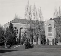 1953 Library: Southwest Facade