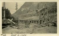 Lower Baker River dam construction 1924-09-04 Powerhouse