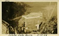 Lower Baker River dam construction 1925-11-20 Intake Gate House