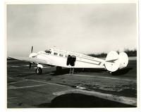 Bellingham Seattle Airways aircraft parked on runway