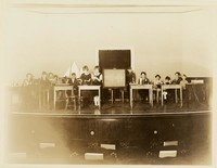 1927 Fifth Grade Assembly, Outcome of Work on Industrial Revolution