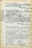 AS Board Minutes - 1921 July