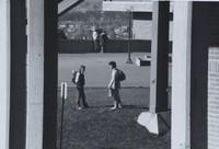 1981 Students on Plaza