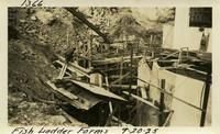 Lower Baker River dam construction 1925-09-20 Fish Ladder Forms