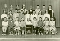 1962 Fourth Grade Class with Charles Miller