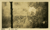 Lower Baker River dam construction 1925-03-20