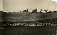 panoramic view of Bellingham and Bellingham Bay (part 2 of triptych)
