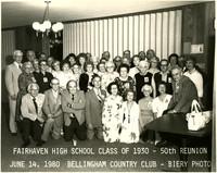 Fairhaven High School classmates at 50th reunion