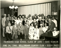 Fairhaven High School classmates at 50th reunion