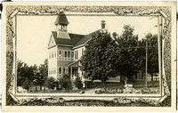 14th Street School house with bell tower, Bellingham, WA