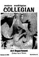 Western Washington Collegian - 1962 February 2