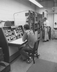 1972 Student Working