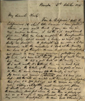 1855-10-03 Letter from M.L. Stangroom to his brother Charly