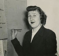 1949 Shirley Johnson, Secretary, Campus School