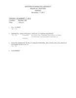 WWU Board of Trustees Packet: 2015-11-17