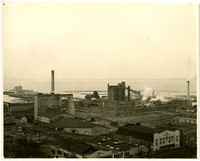 Puget Sound Pulp Mill on Bellingham waterfront