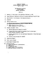 WWU Board minutes 1972 April
