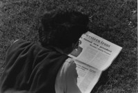 1968 Student Reading Western Front