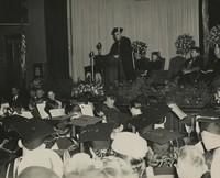 1949 Commencement: James H. Butler