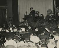 1949 Commencement: James H. Butler