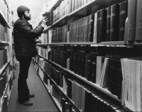 1979 Student in Library