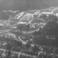 1972 Aerial View: North Campus