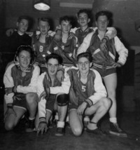 1942 Campus School Basketball Team