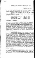 WWU Board minutes 1919 February