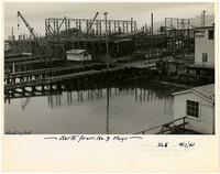 Construction of Northwestern shipyard, Bellingham, WA