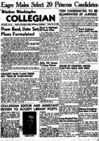 Western Washington Collegian - 1949 January 14