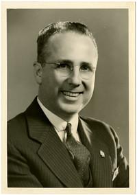 Studio portrait of A.W. Talbot