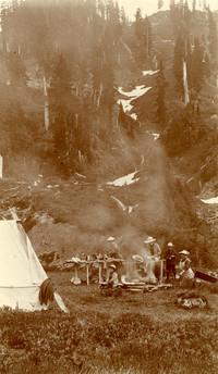 Campsite near Chain Lakes